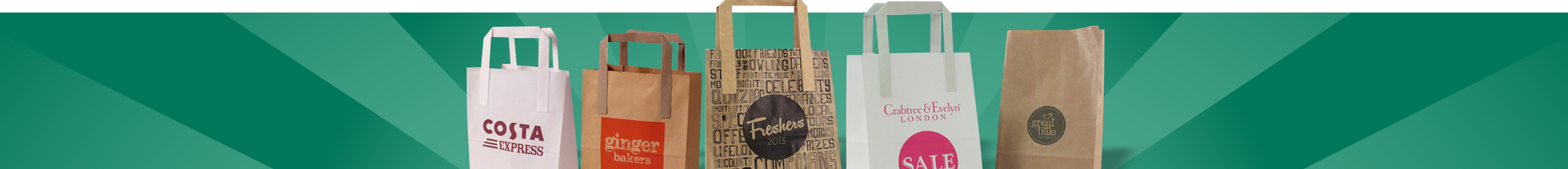 Paper Bags Banner | Promotional Products | Minuteman Press Norwich