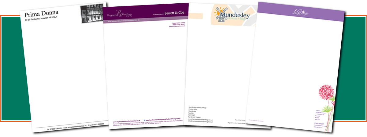 Letterheads | Minuteman Press Norwich