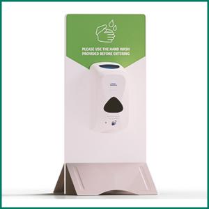 Desktop Hand Sanitiser Station by Minuteman Press Norwich